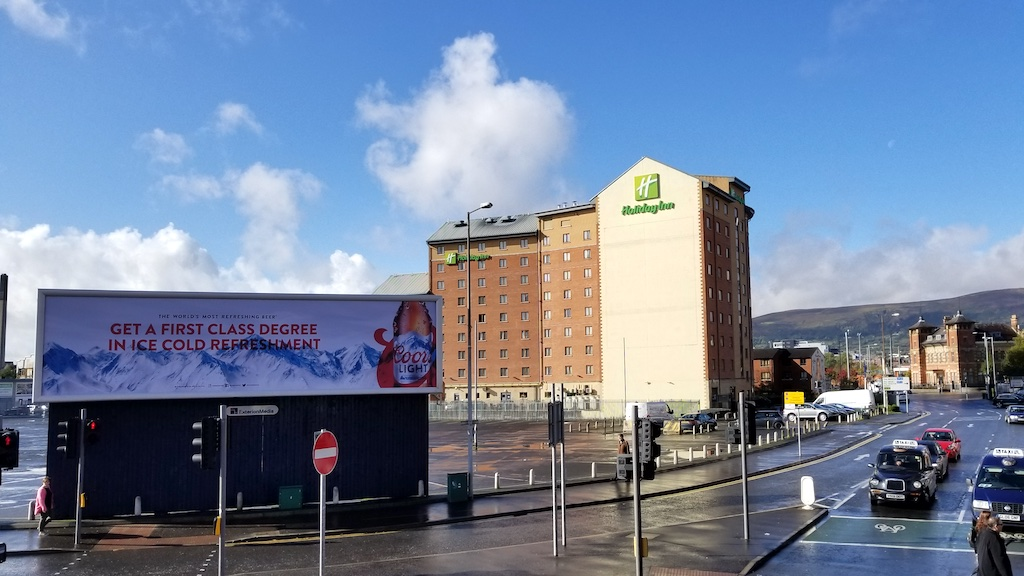 Belfast City, Northern Ireland United Kingdom - Holiday Inn Hotel