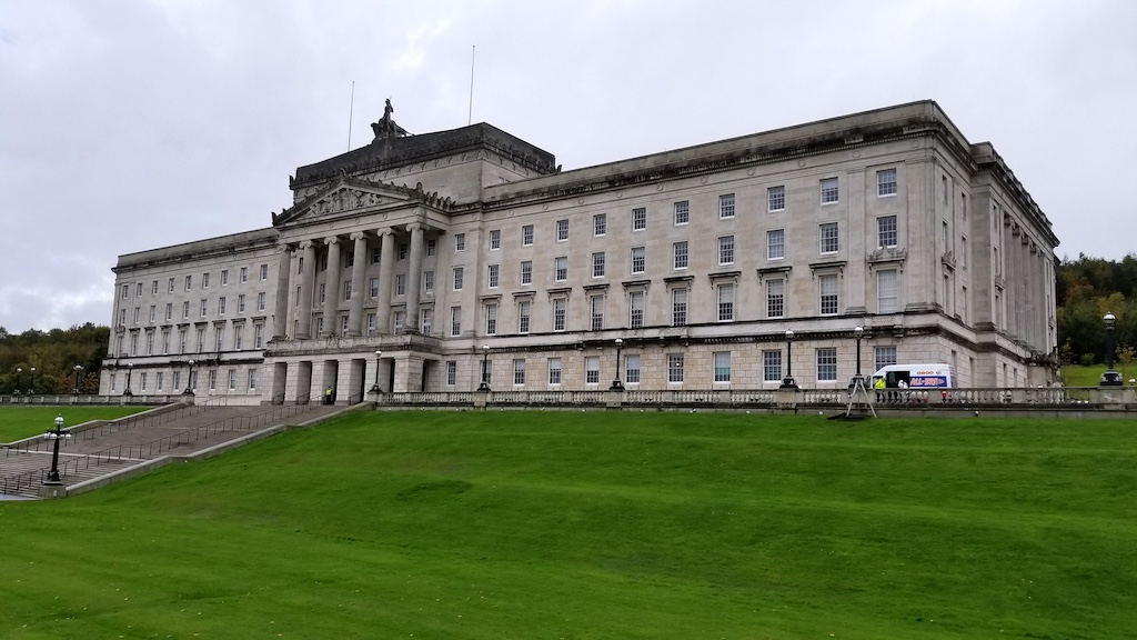 Belfast City, Northern Ireland United Kingdom - Parliament House