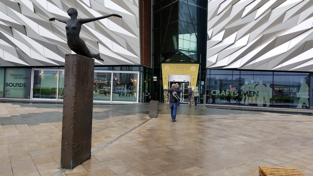 Belfast City, Northern Ireland United Kingdom - Welcome to Titanic Belfast