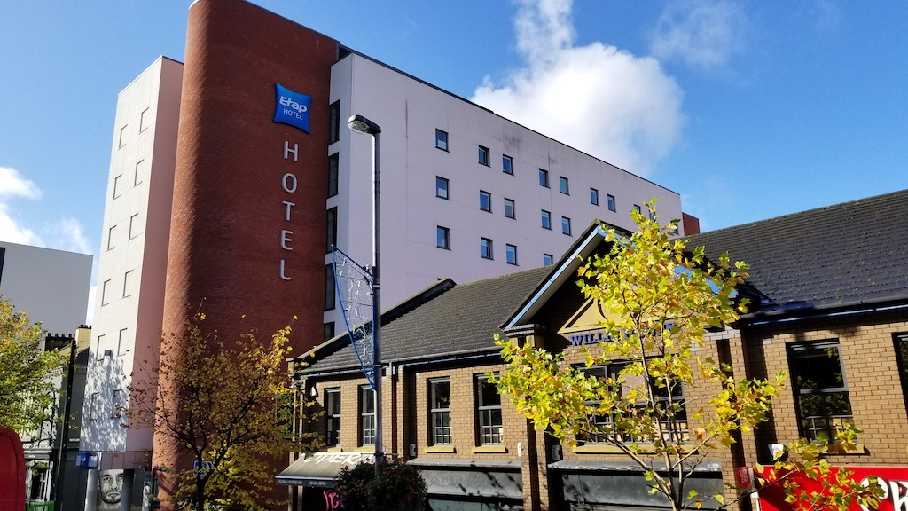 Belfast City, Northern Ireland United Kingdom - etap hotel