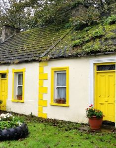 Carrigaholt, Ireland - Yellow House