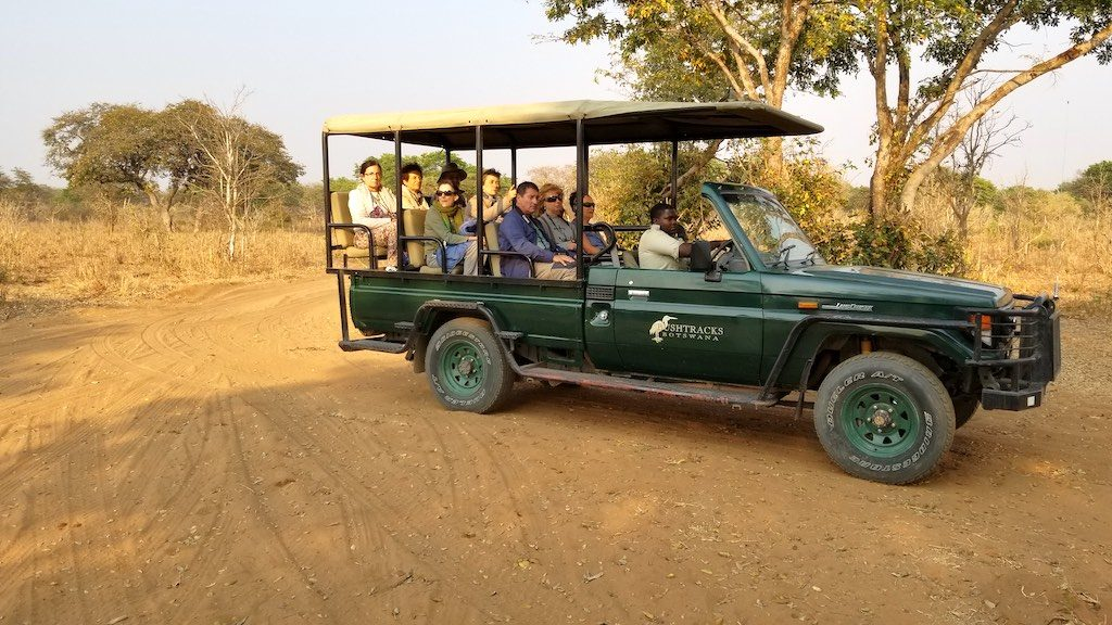 Chobe National Park, Botswana - People on Safari