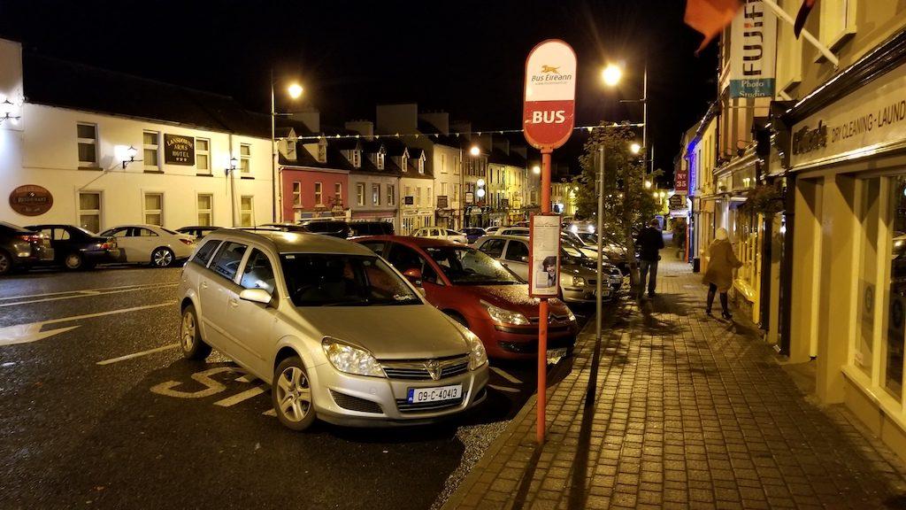 Kenmare, Ireland - Bus Eireann Stop in Kenmare