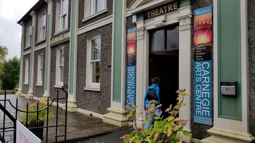 Kenmare, Ireland - Library and Theatre