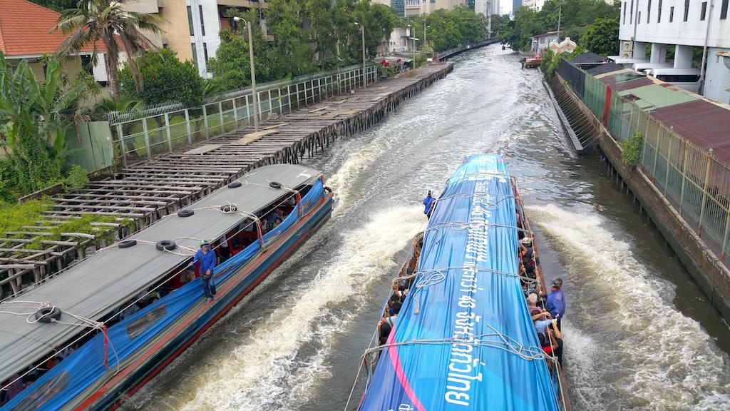 Khlong Saen Saep, Bangkok, Thailand Water Taxis