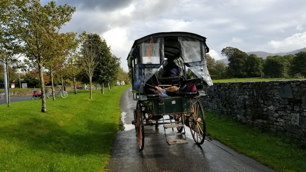 Killarney, Ireland - Jaunting car