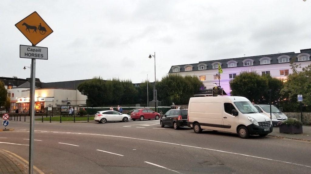Killarney, Ireland - Jaunting car Sign