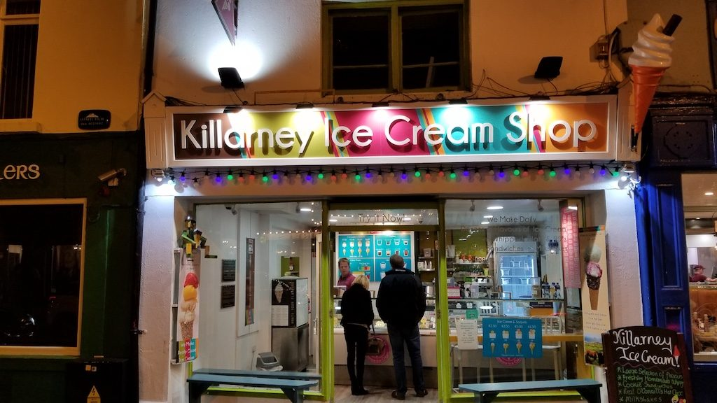 Killarney, Ireland - Killarney Ice Cream Shop