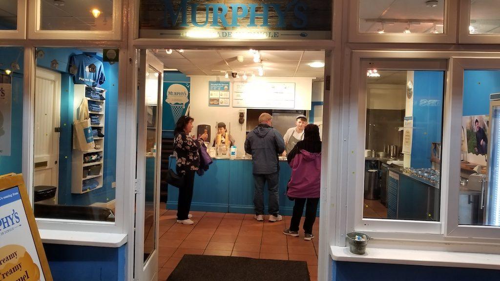 Killarney, Ireland - Murphy's Ice cream Killarney