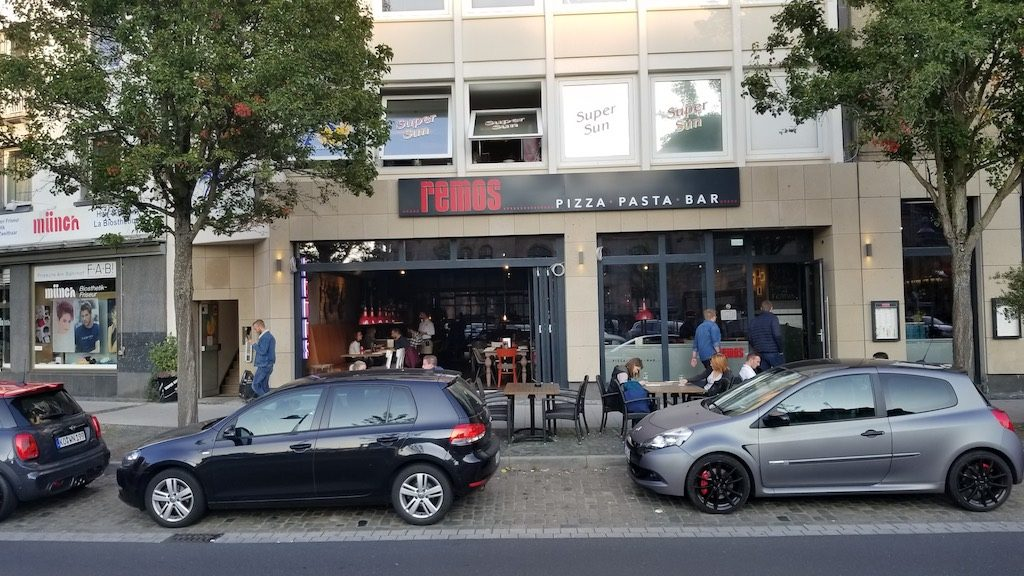 Koblenz, Germany - Remos pizza pasta bar