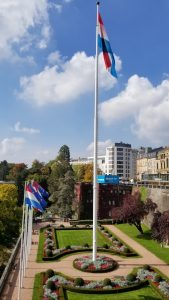 Luxembourg City, Luxembourg - Flags