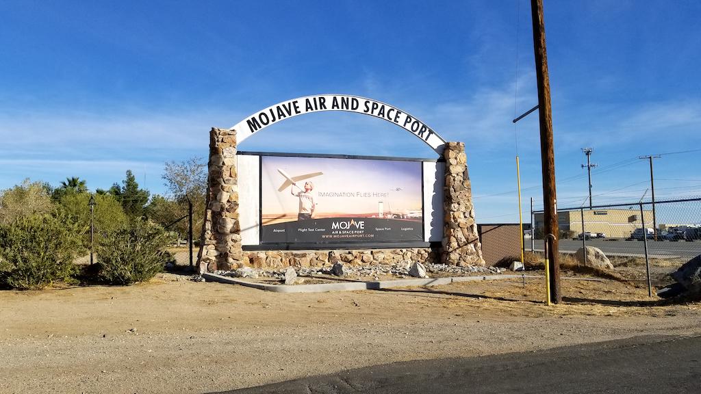 Mojave Air and Spaceport, Mojave California USA - Mojave Air and Spaceport