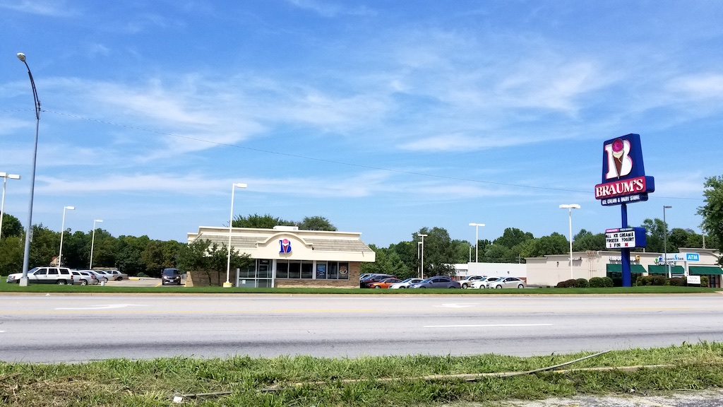 Springfield, Missouri USA - Braum's ice cream