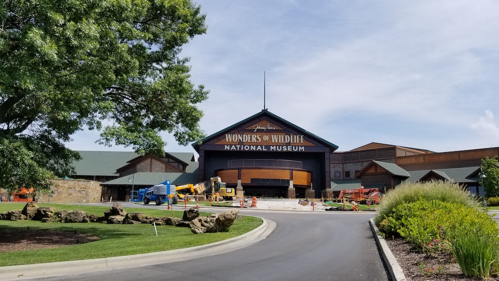 Springfield, Missouri USA - Wonders of Wildlife Museum