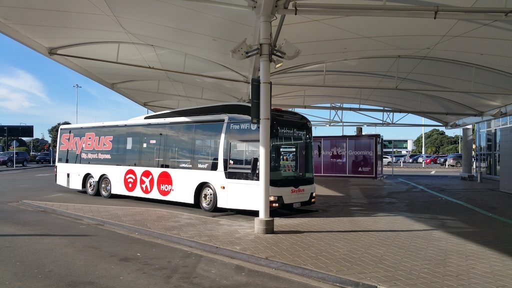 Auckland, New Zealand - SkyBus