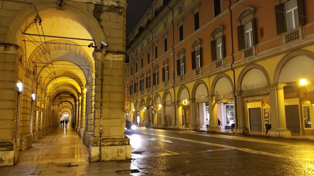 Bologna, Italy - Street at night