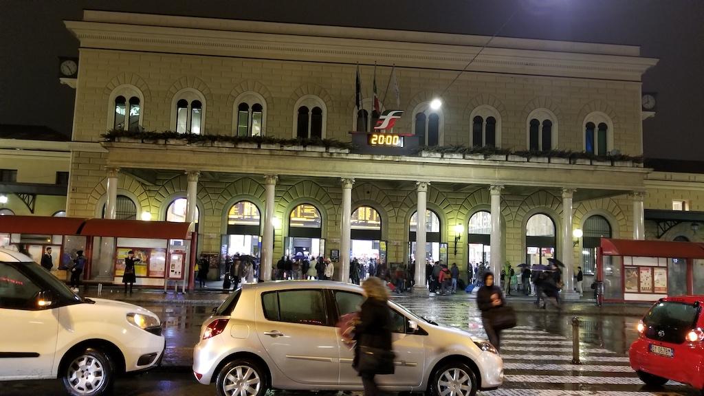 Bologna, Italy - Train station