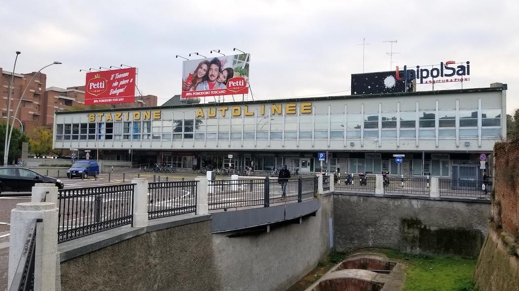 Bologna, Italy - bus station