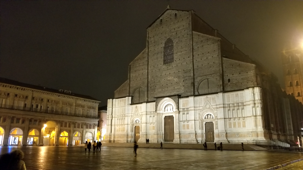 Bologna, Italy - San Petronio Basilica