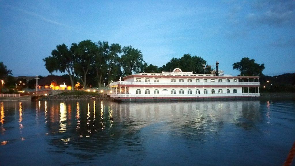St. Paul, Minnesota - Minnesota Centennial Steamboat