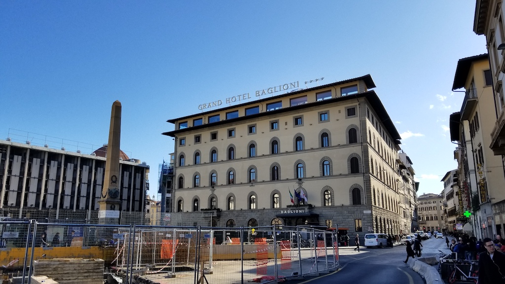 Florence, Italy - Grand Hotel Baglioni
