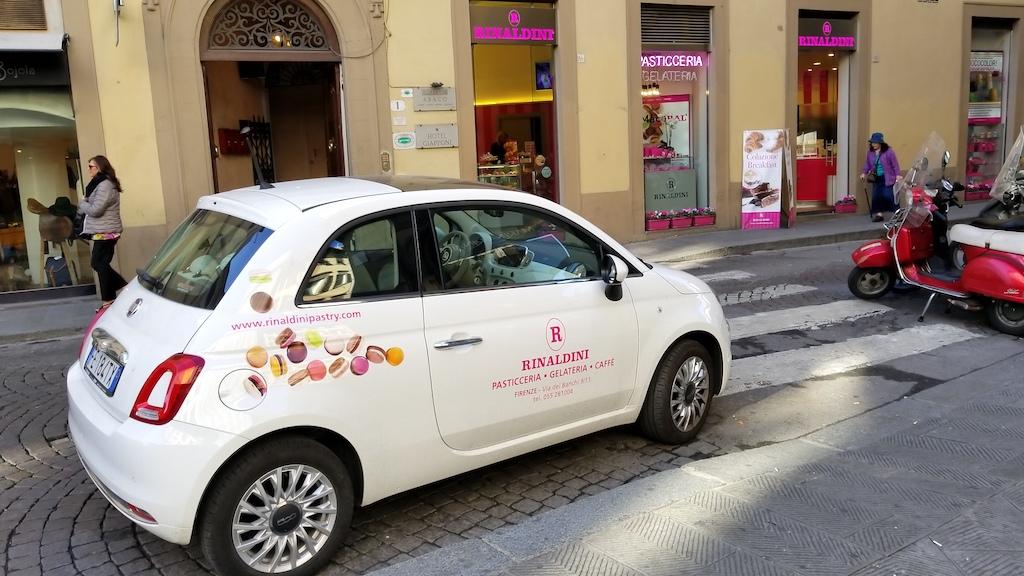 Florence, Italy - Rinaldini Gelateria