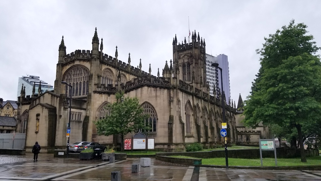 Manchester, United Kingdom - Manchester Cathedral