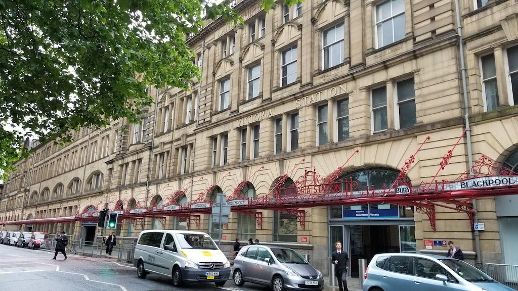 Manchester, United Kingdom - Manchester Victoria Station