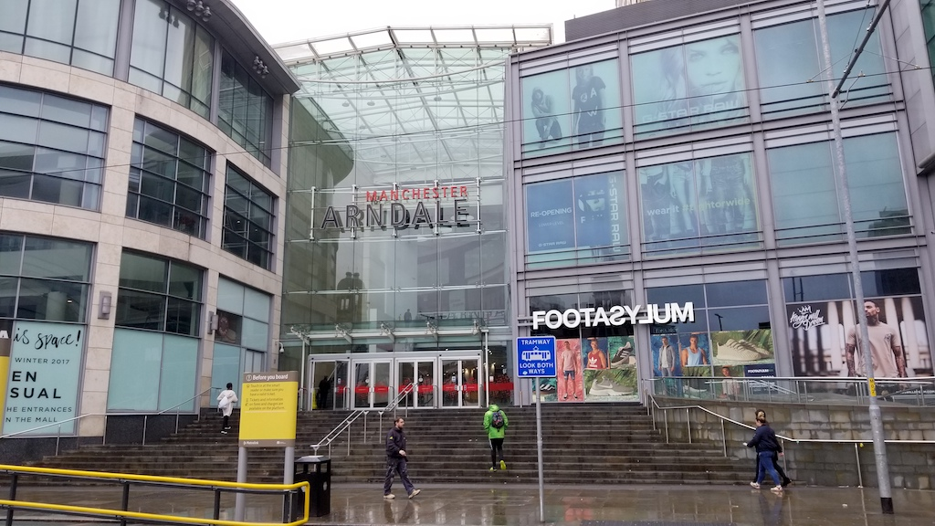 Manchester, United Kingdom - Manchester Arndale Shopping Center