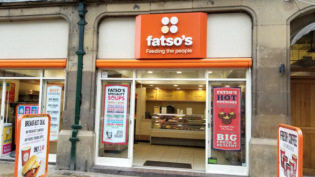 Manchester, United Kingdom - fatso's feeding the people