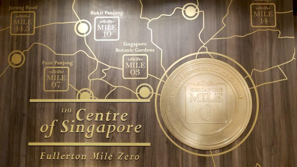 Mile Zero, Singapore-