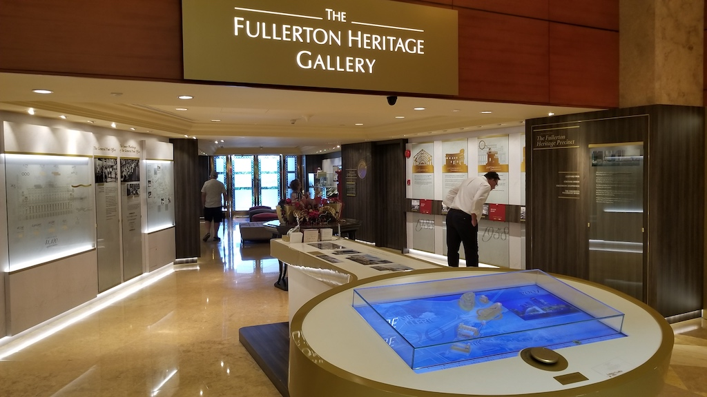 Mile Zero Singapore - Fullerton Heritage Gallery Fullerton Bay Hotel