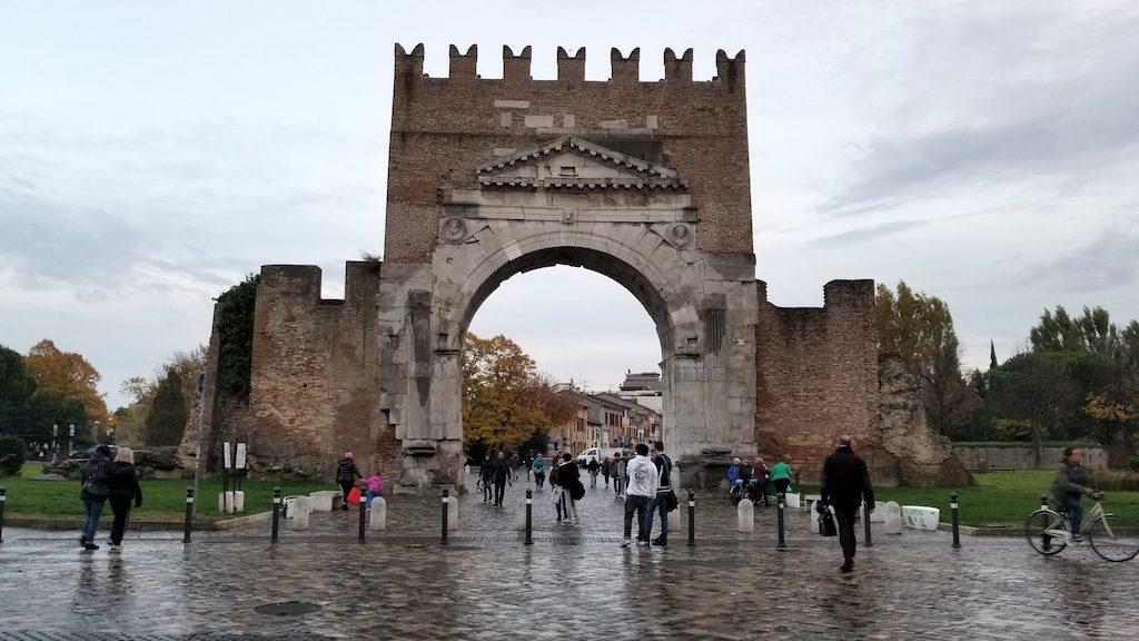 Rimini, Italy - Arch of Augustus