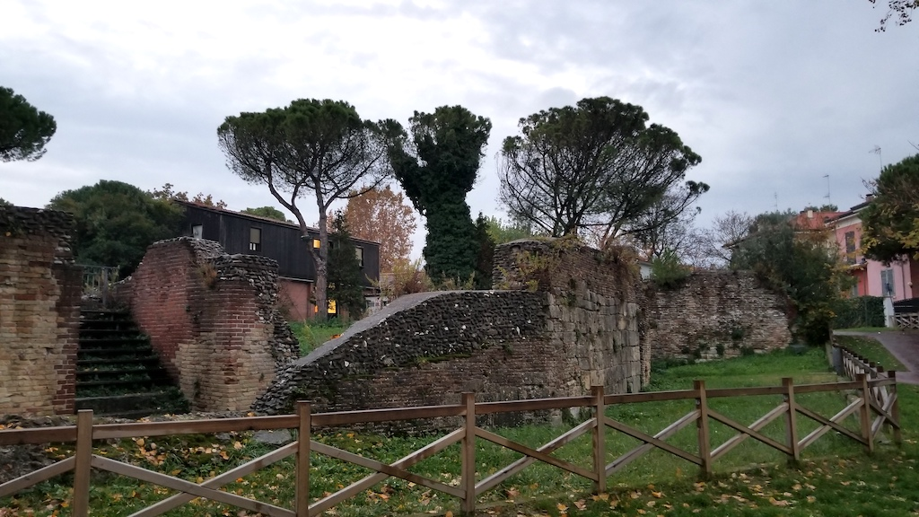 Rimini, Italy - Old amphitheater