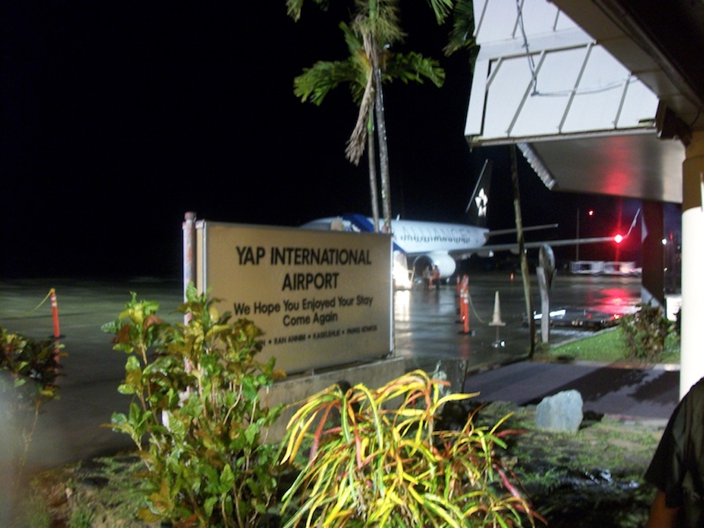 Yap, Federated States of Micronesia - Yap International Airport