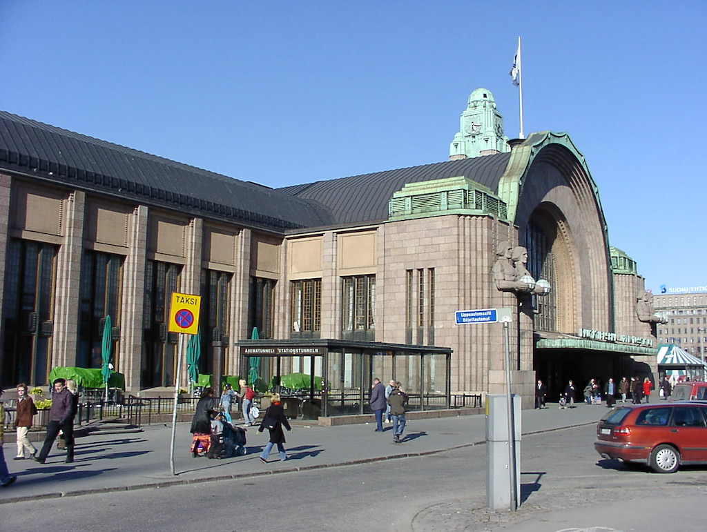 Helsinki, Finland - Helsinki Central Train Station
