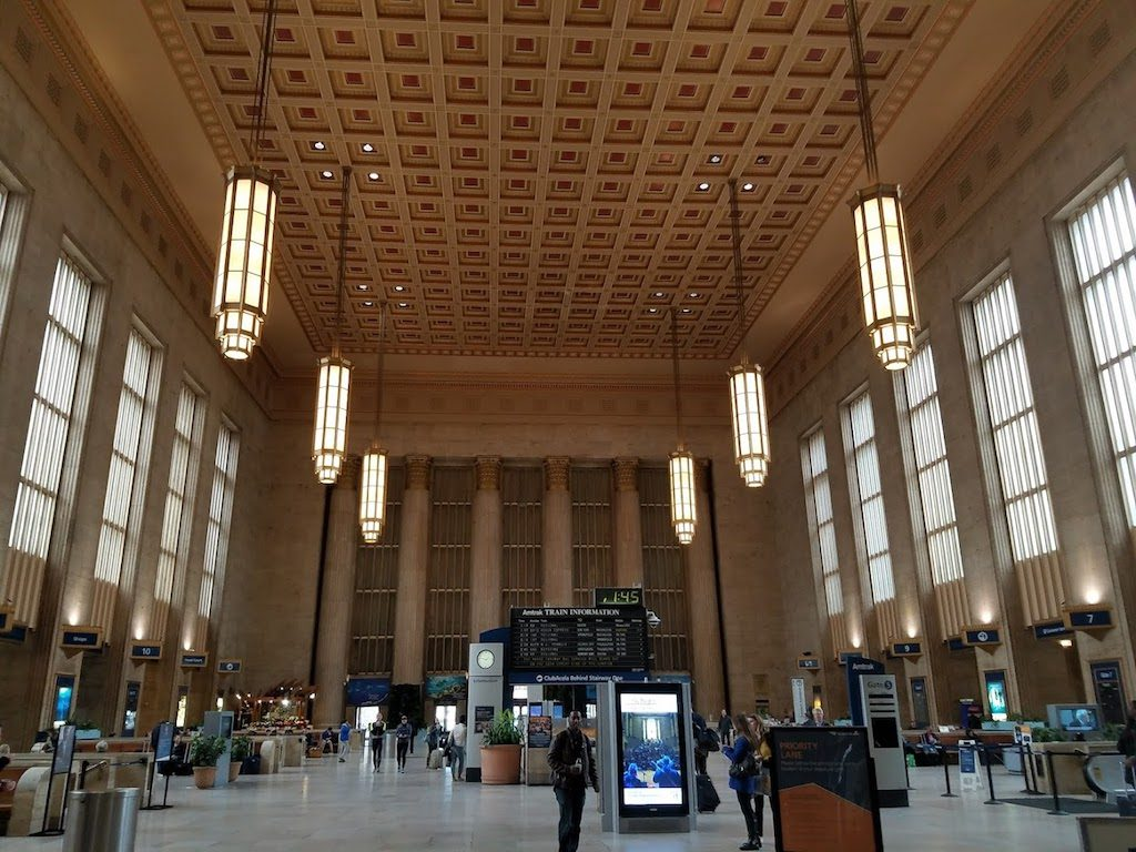Philadelphia, Pennsylvania USA - 30th Street Station
