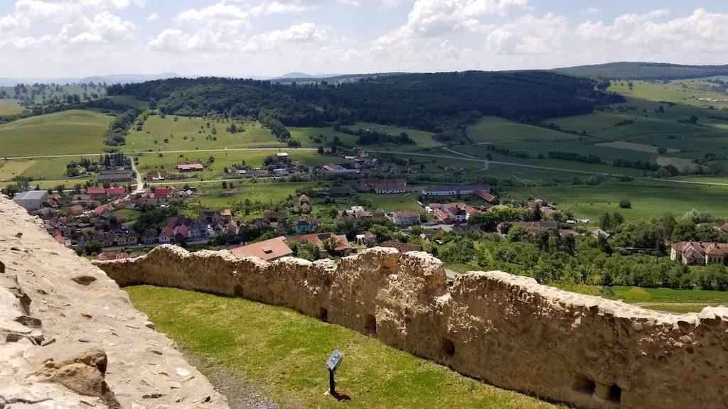 Rupea Fortress, Romania - Fortress view