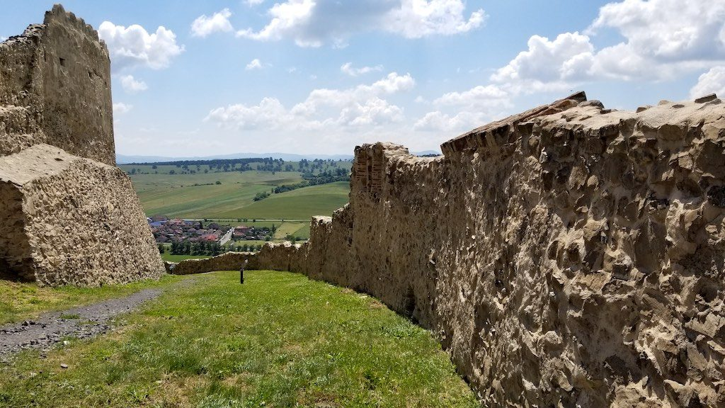 Rupea Fortress, Romania - Fortress walls