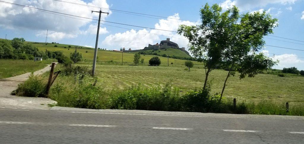 Rupea Fortress, Romania On the hill
